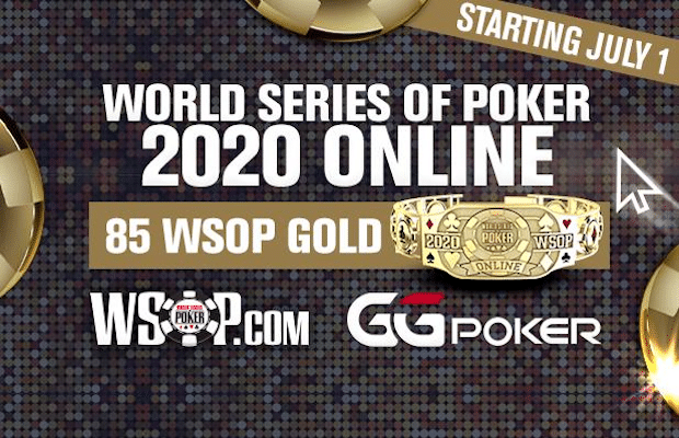 2020 Summer Online (WSOP) Details Announced