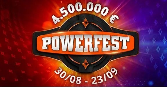 Powerfest at PartyPoker – with €4.5M GTD