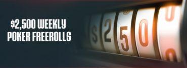 U.S Friendly Ignition Poker Runs $2500 Weekly Poker Freeroll